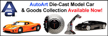Autoart Die-Cast Model Car and Accessories